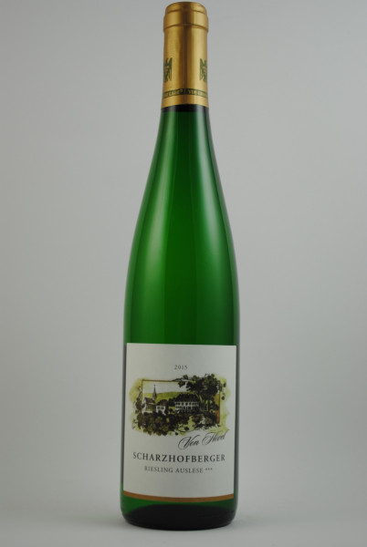 2015 Riesling Scharzhofberger (VDP 1.Lage) Auslese***